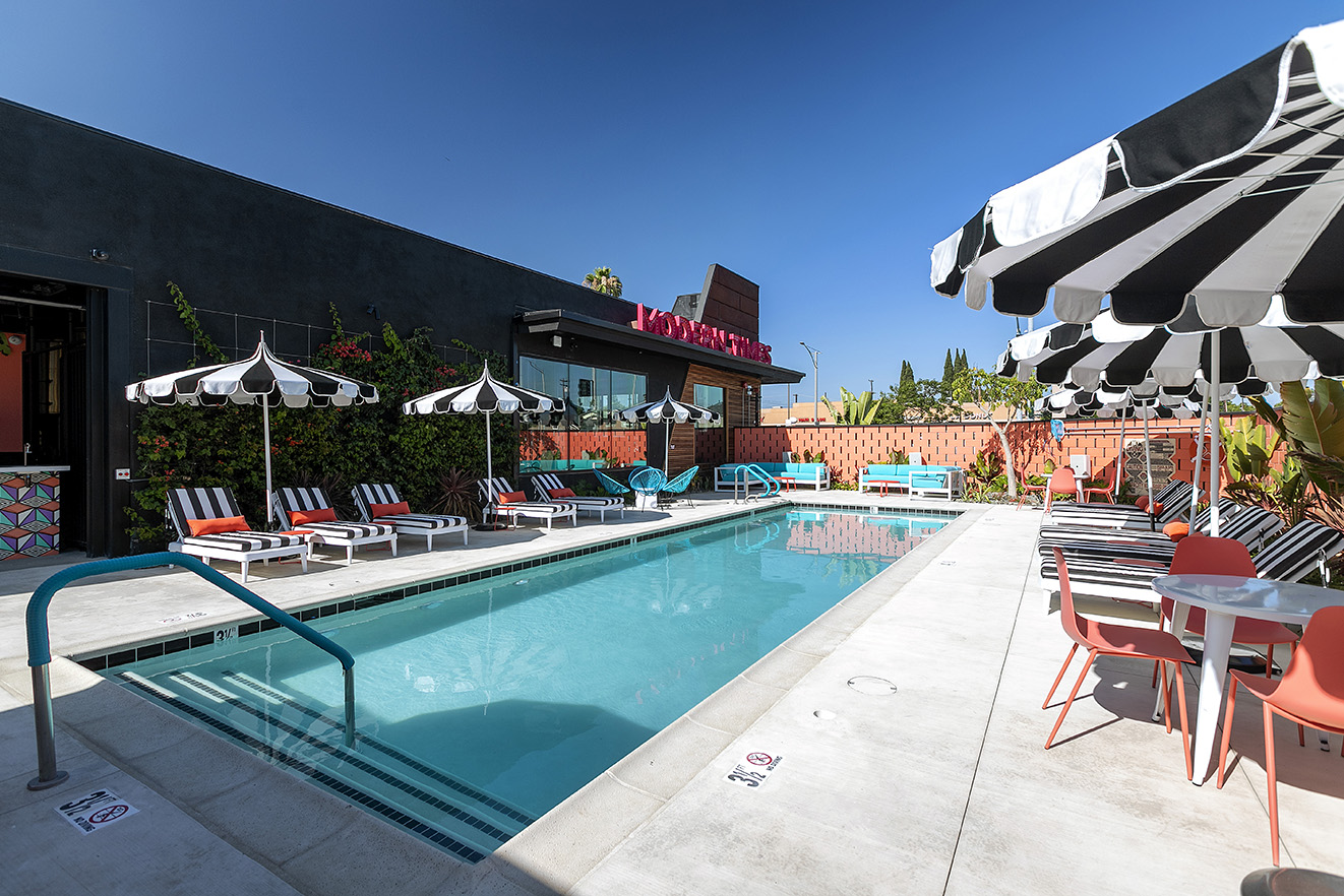 Photo of the Anaheim Pool During the Daytime