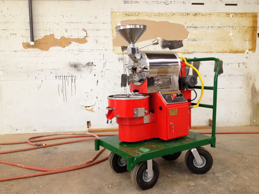 Behold! The Modern Times Coffee Roasting Robot | Modern Times Beer