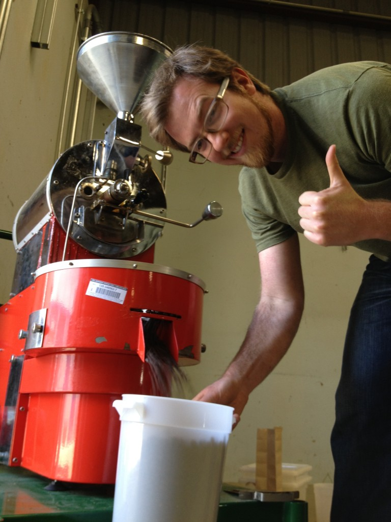 Behold! The Modern Times Coffee Roasting Robot   Modern Times Beer