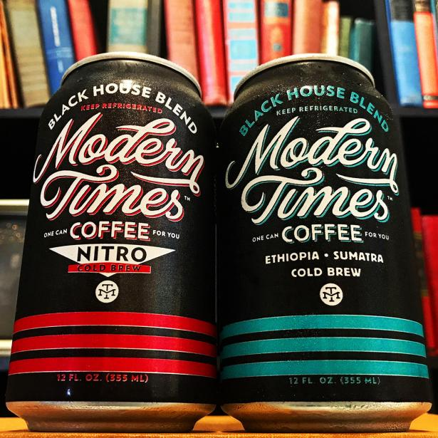Black House Cold Brew Cans