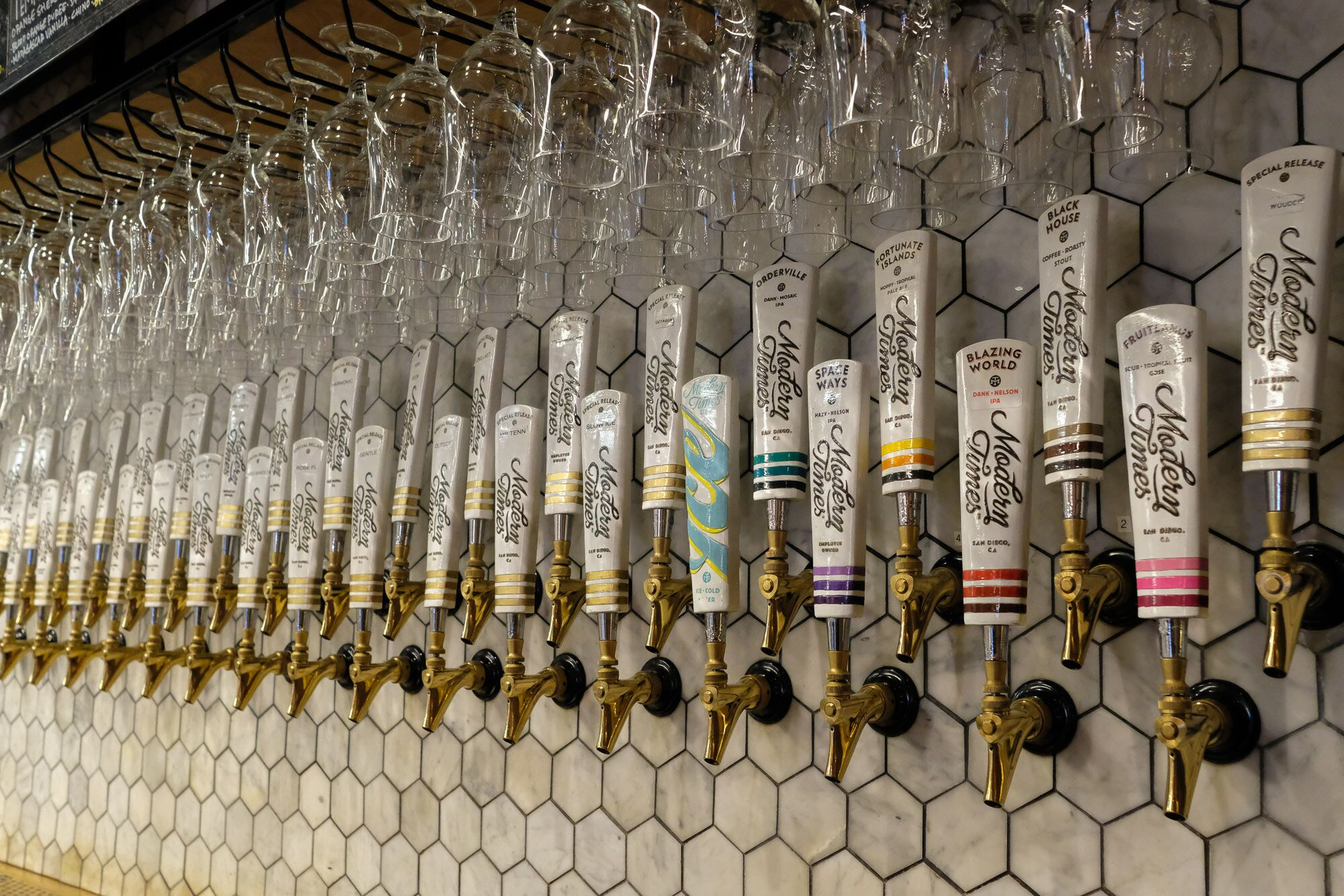 Beer Tap Selection